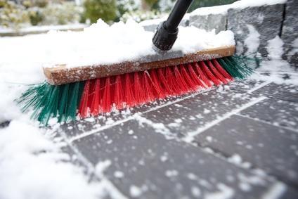 Schneeräumpflicht im Winter
