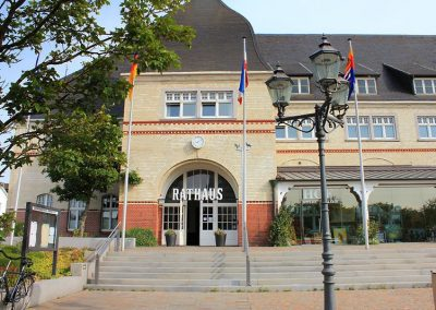 Das Rathaus der Inselverwaltung Sylt