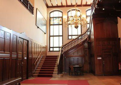 Im Eingangsbereich