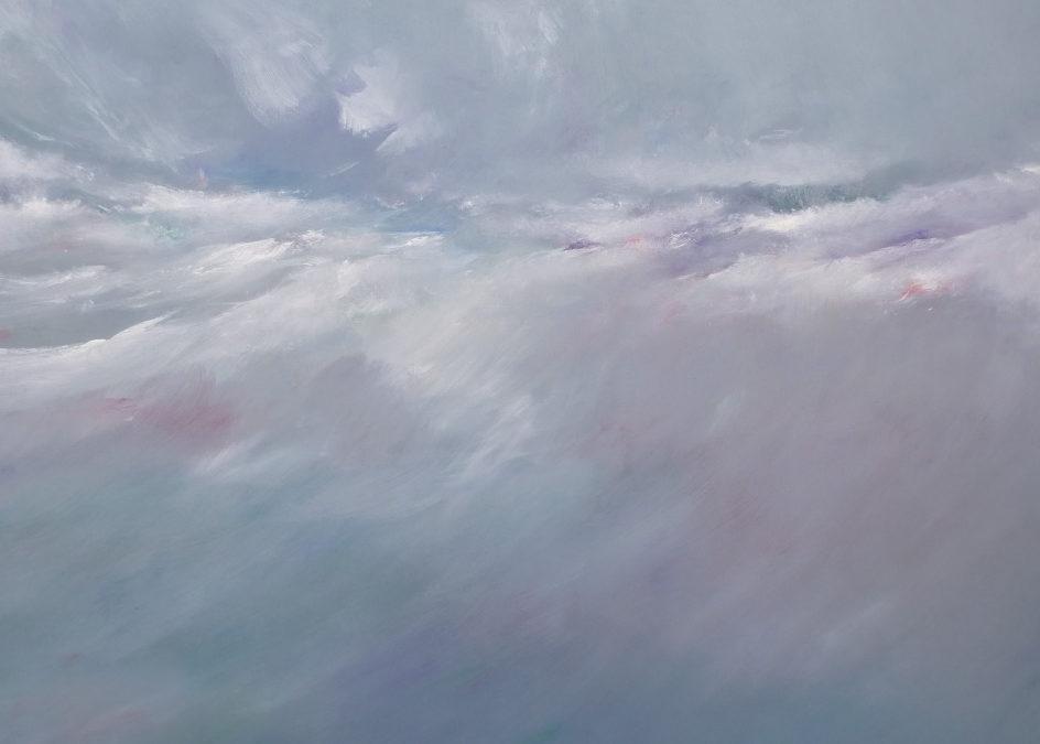 """Ausstellung """" Weltrand – Aquarelle, Ölbilder und Skulpturen von Ingo Kühl"""
