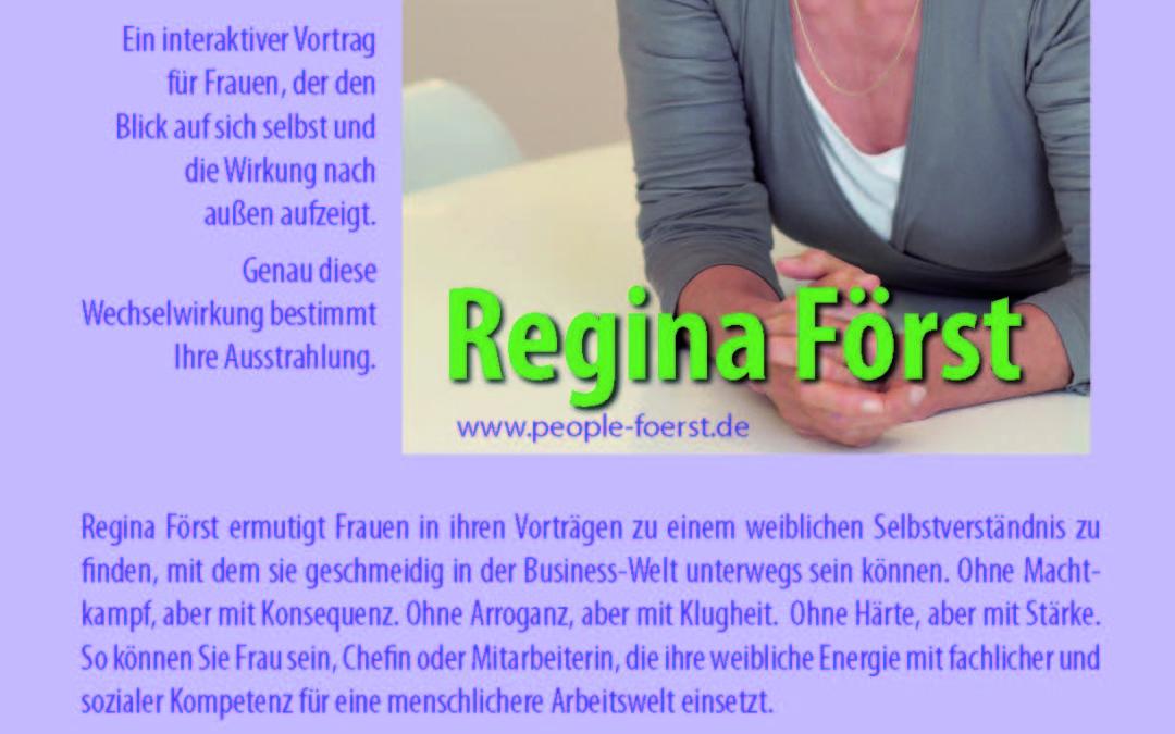 EINDRUCK BRAUCHT AUSDRUCK – Training mit Regina Först am 10.05.2019