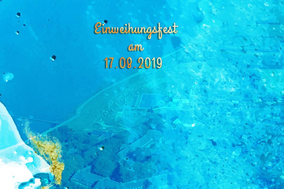 Einweihungsfest für den neuen grünen Platz am Tipkenhoog in Keitum