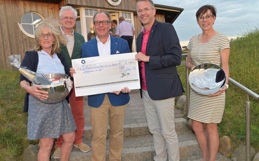 Herzlichen Dank an die Zahnärztekammer Schleswig-Holstein für die Spende