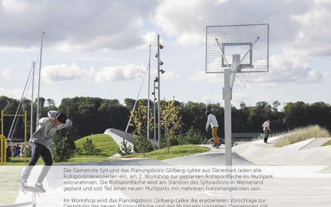 Workshop zur Gestaltung des Multiparks mit Rollsportpark