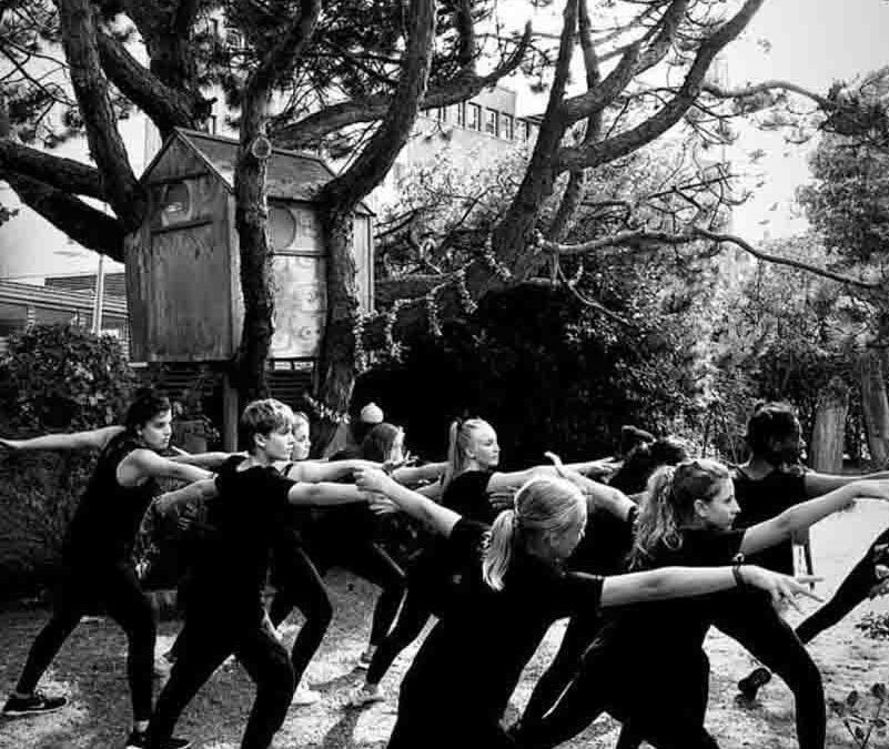 Tanzworkshop – artFORmultipark Sammelaktion