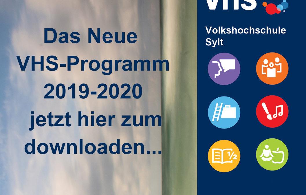 Das Neue VHS-Programm 2019-2020 hier zum Download.