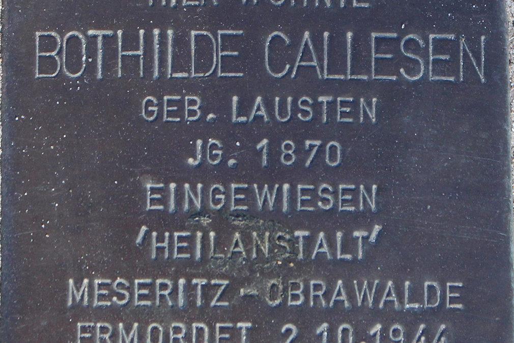 Stolperstein – Callesen, Bothilde Maria