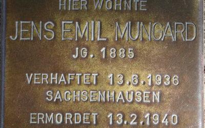 Stolperstein – Mungard, Jens Emil