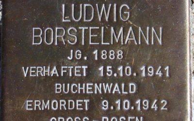 Stolperstein – Borstelmann, Ludwig