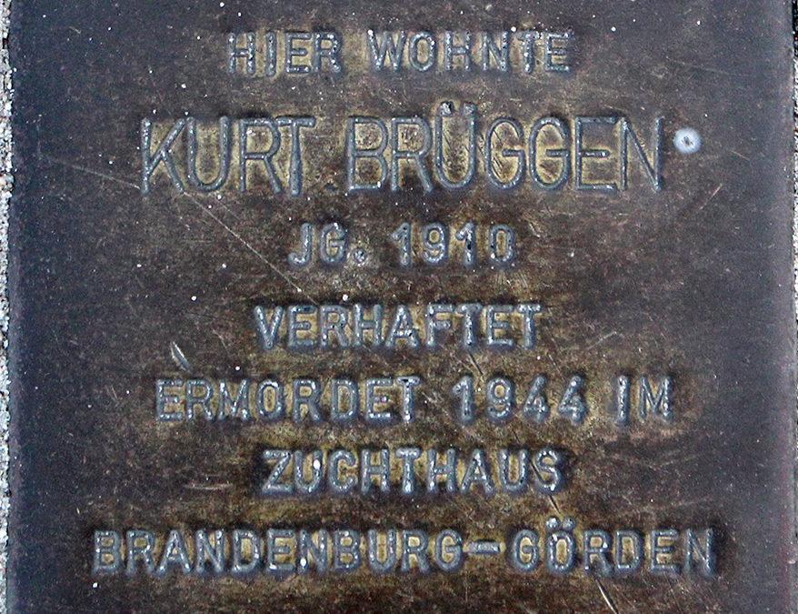 Stolperstein – Brüggen, Kurt