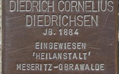 Stolperstein – Diedrichsen, Diedrich Cornelius