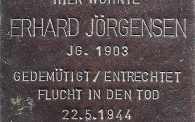Stolperstein – Jörgensen, Erhard