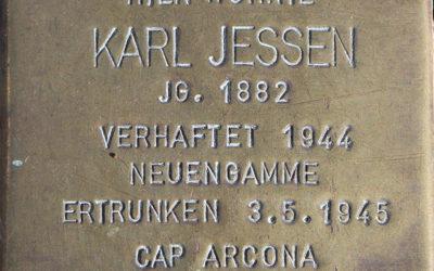 Stolperstein – Jessen, Carl