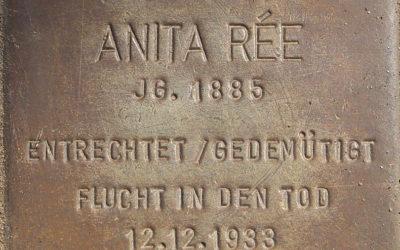 Stolperstein – Rée, Anita Clara