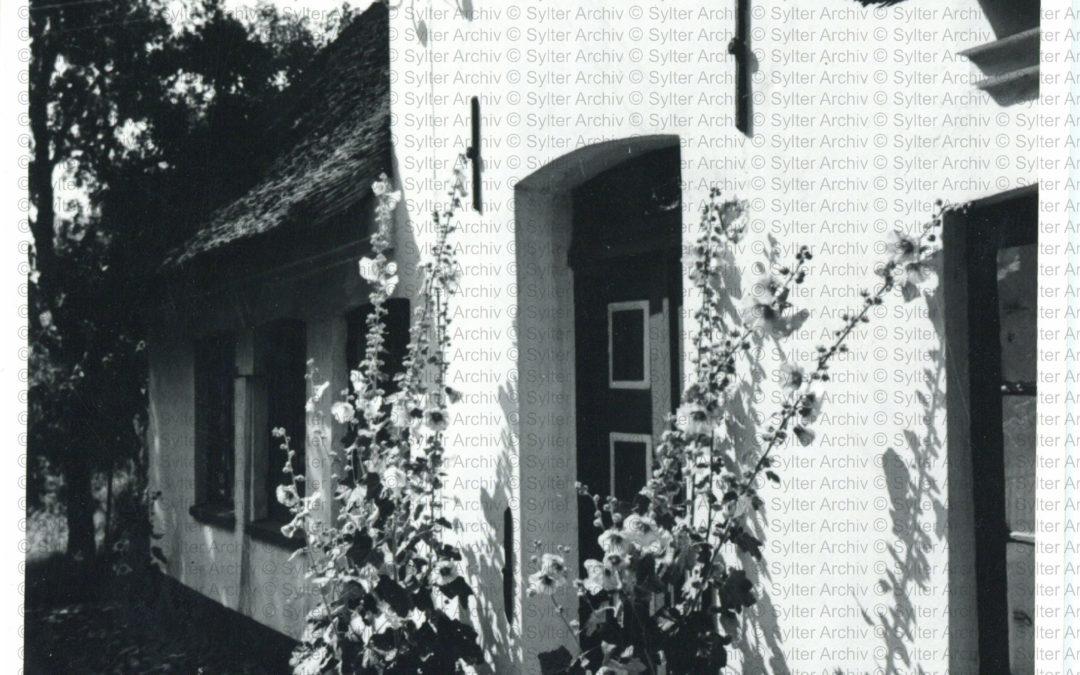 Eingang Friesenhaus mit Blumen_WZ