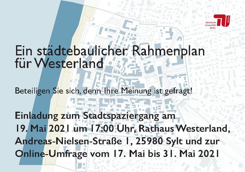 Ein städtebaulicher Rahmenplan für Westerland – Einladung zum Stadtspaziergang