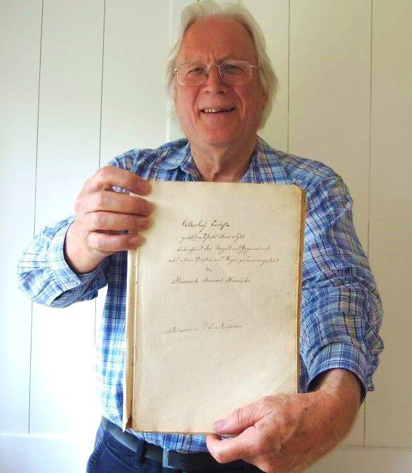 Sylter Archiv – Transkription der Rinken-Chronik fertiggestellt